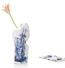 Papieren Vaas / Delfts Blauw