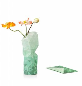 Paper Vase / Green