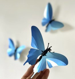 Paper Butterflies / Blue