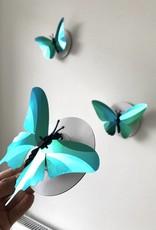 Paper Butterflies / Green