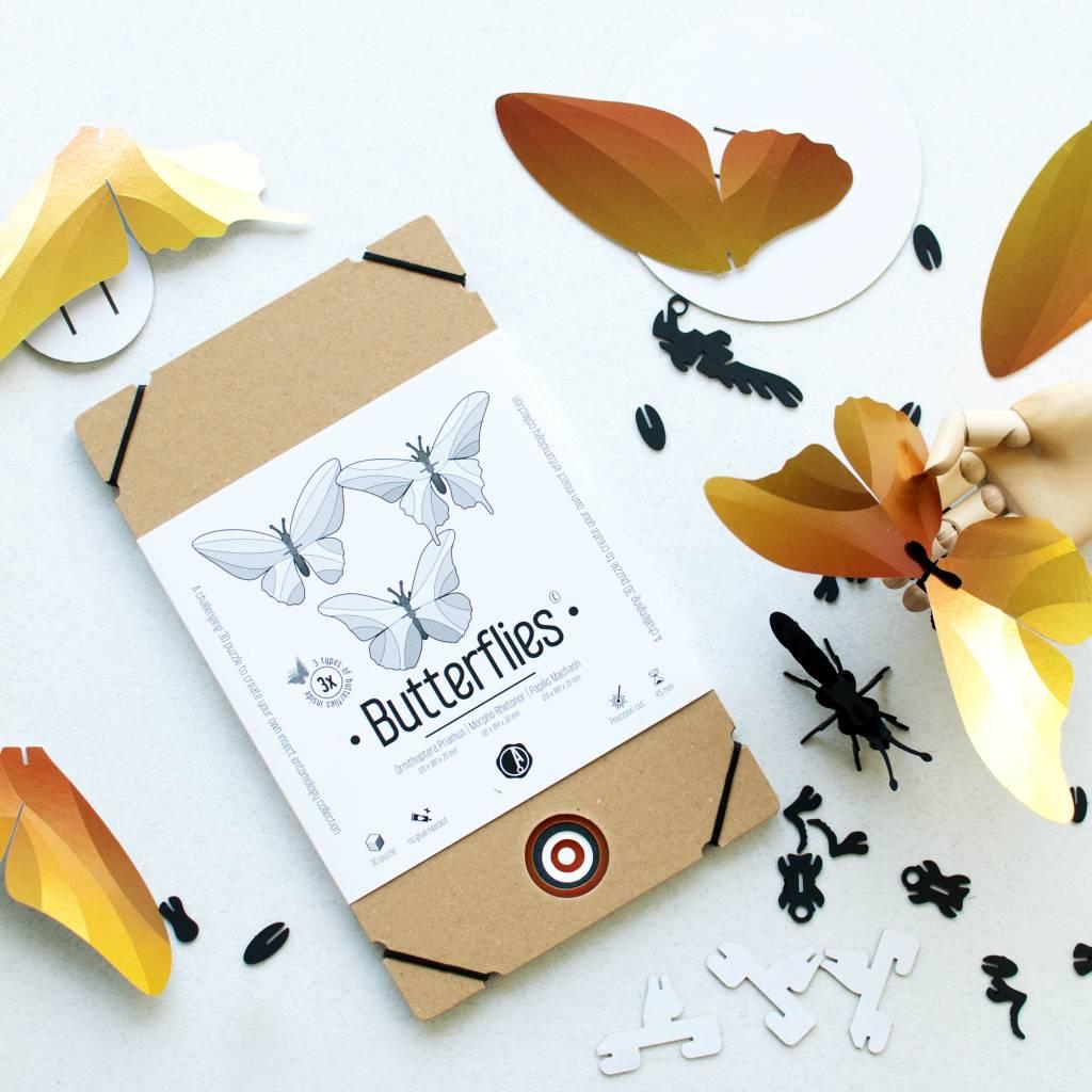 Paper Butterflies / Orange