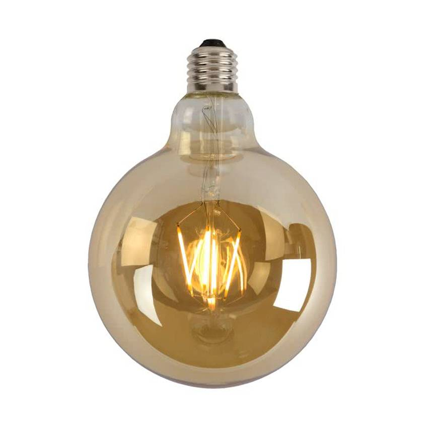 Retro LED Globe 4W / Gold