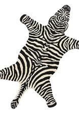 Vloerkleed  in de vorm van een zebra