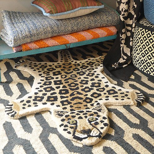 Rug / Leopard / S