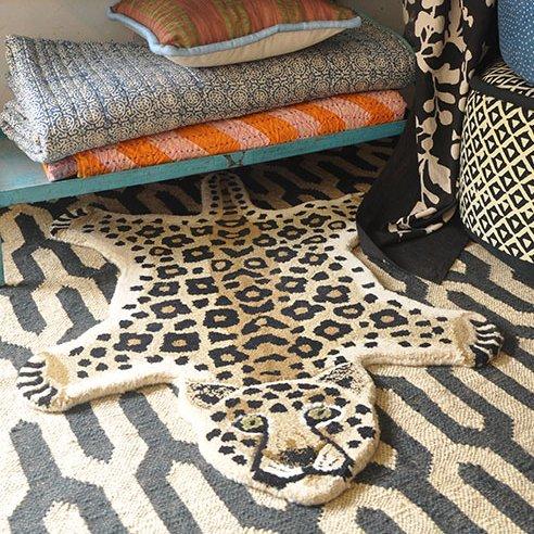 Rug / Leopard / L