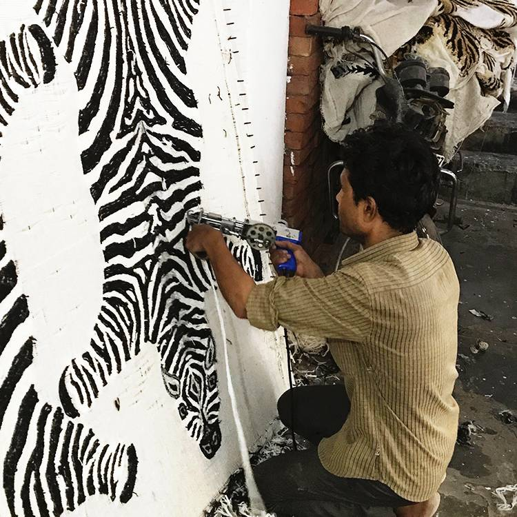Rug / Zebra / L