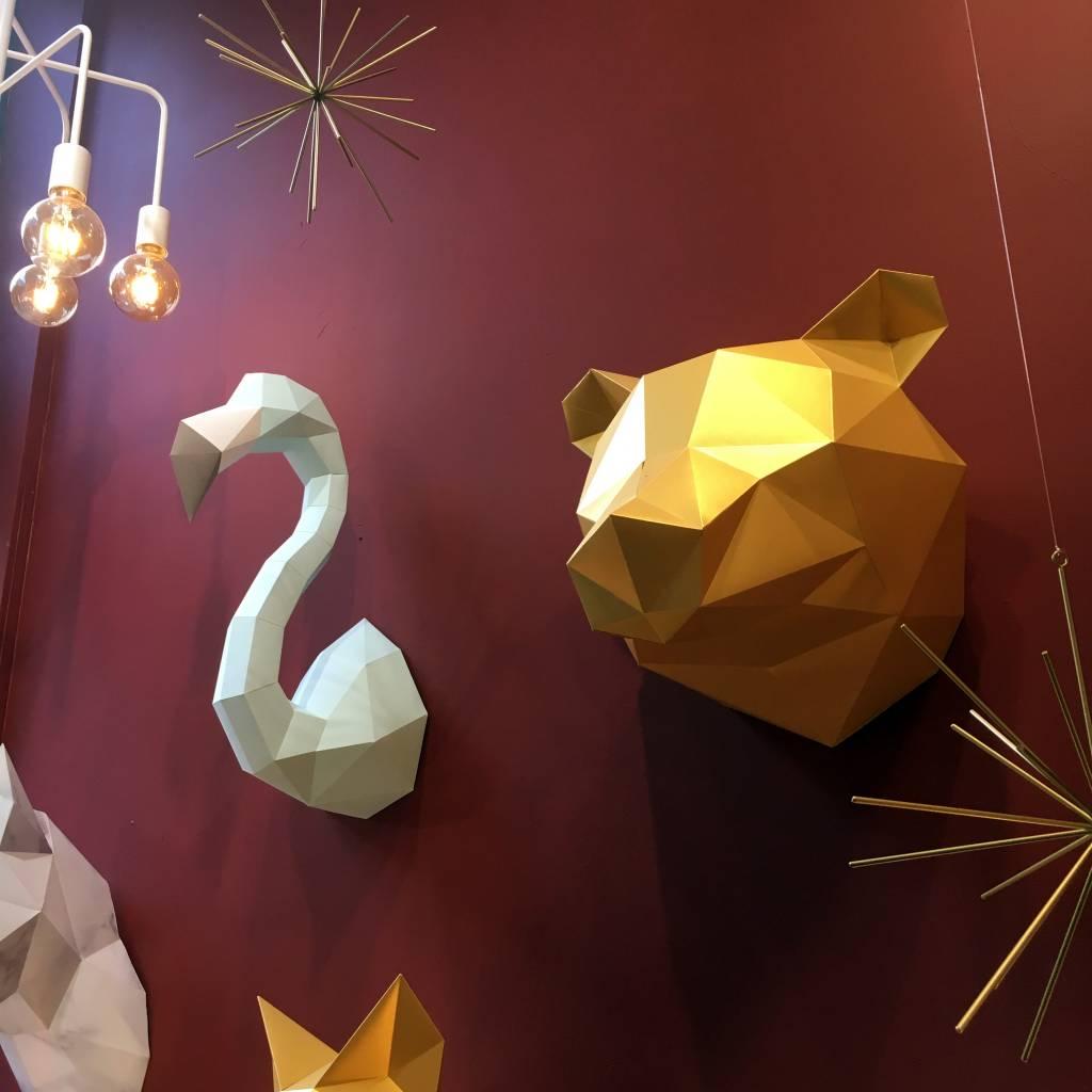 Paper Bear / Gold