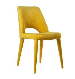 Velvet Chair / Yellow