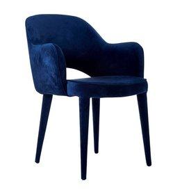 Velvet Chair / Blue