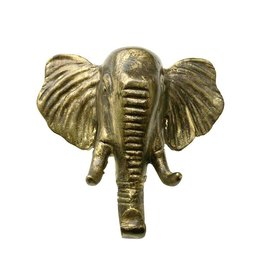Hook / Elephant / Brass