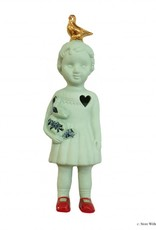 Doll with Pigeon / Green