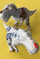 T-rex beeld / Delftsblauw