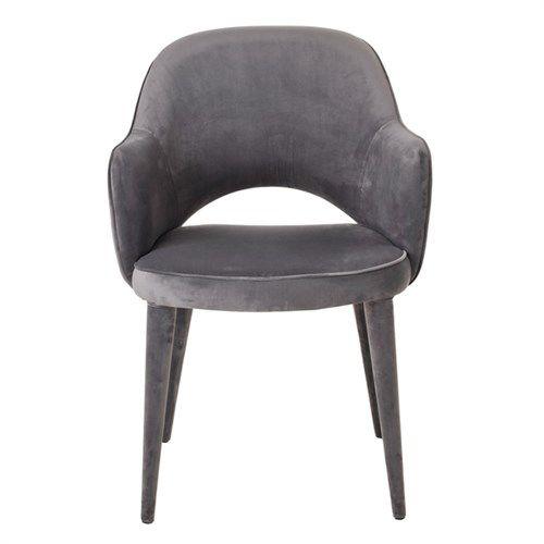Velvet Chair / Grey