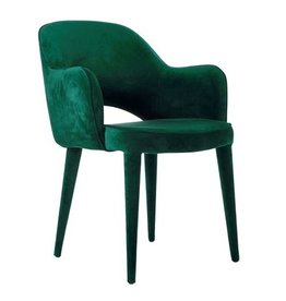 Velvet Chair / Green
