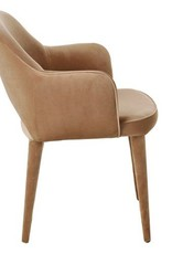 Velvet Chair / Beige