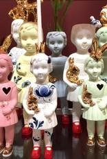 Porcelain Doll / Pigeon / Blue