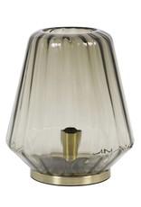 Glazen tafellamp / Gustav / Bruin