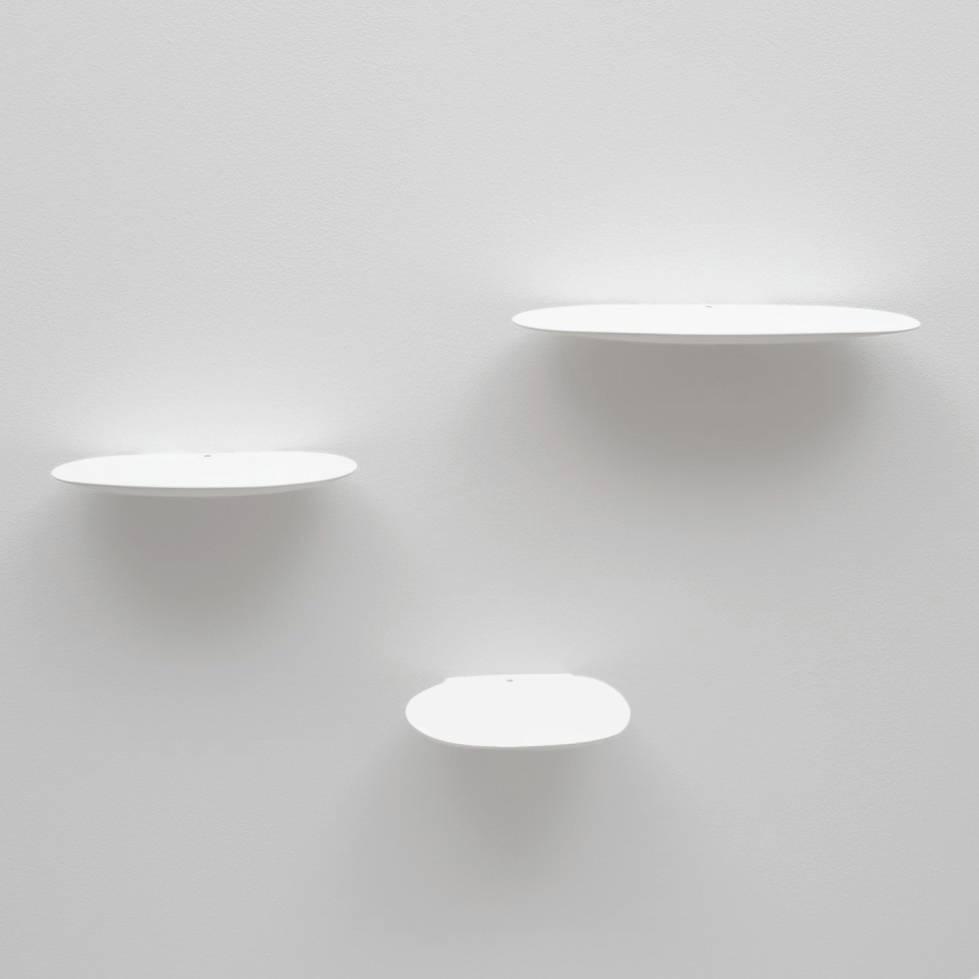 Ceramic shelf / L / White