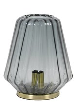 Glass Table Lamp / Gustav / Grey