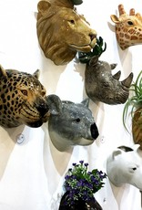 Ceramic koala wall vase