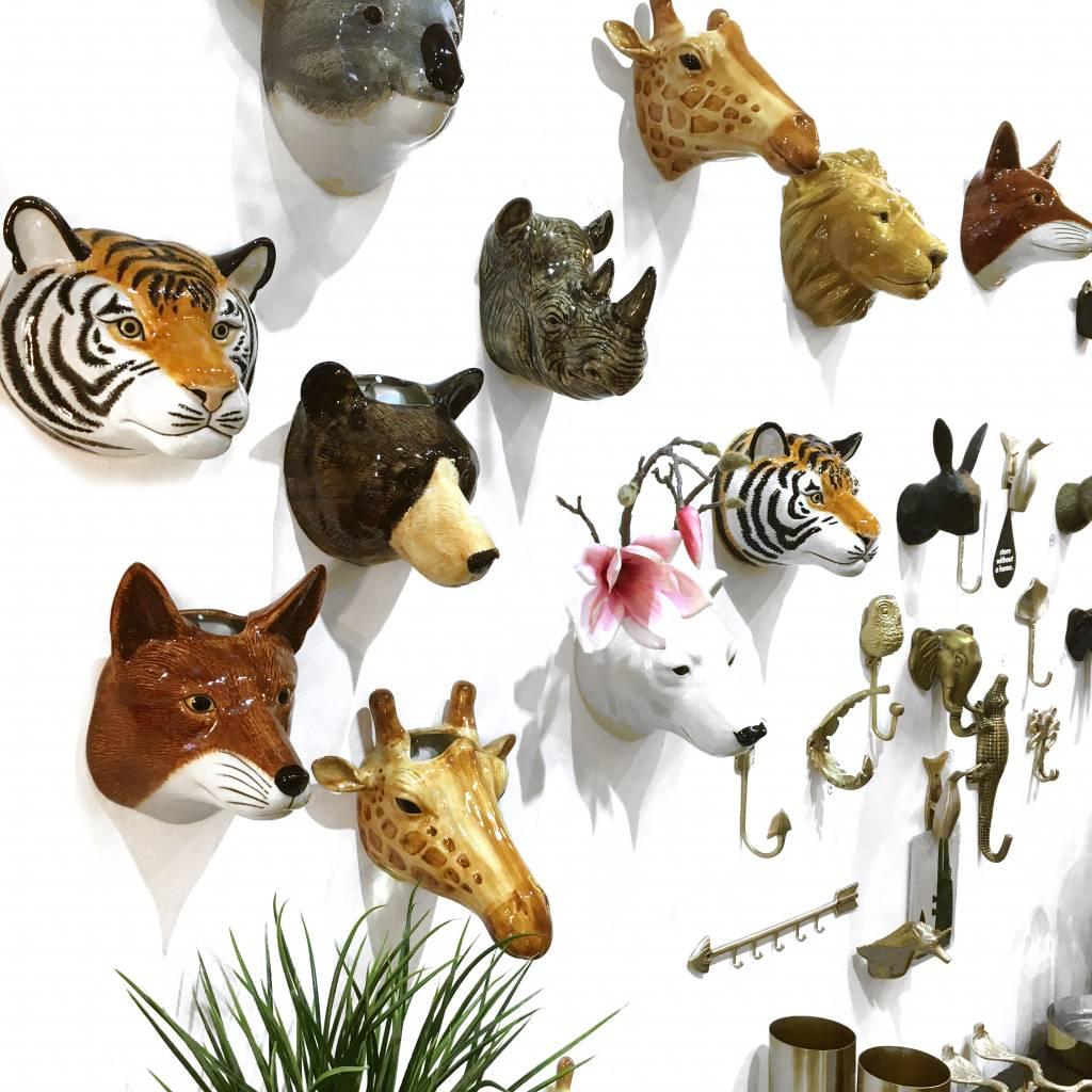 Wall Vase / Rhino