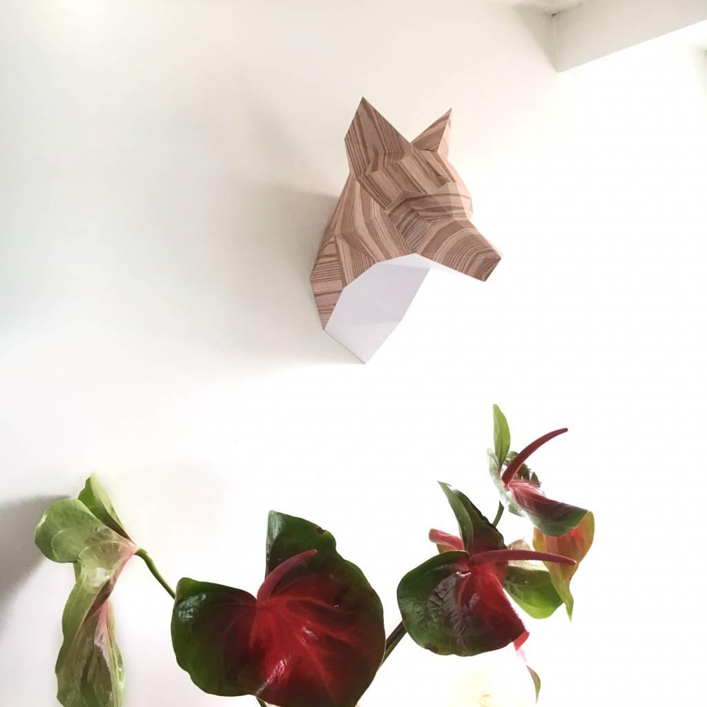 Paper Fox / Wood