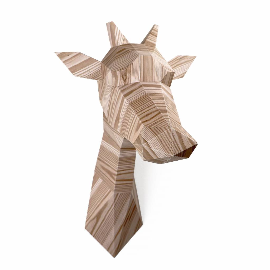 Paper Kit / Giraffe / Wood