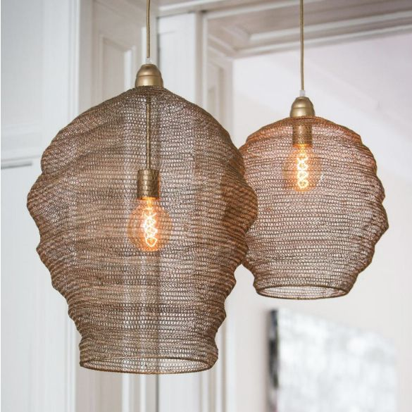 Hanglamp / Garza L / Brons