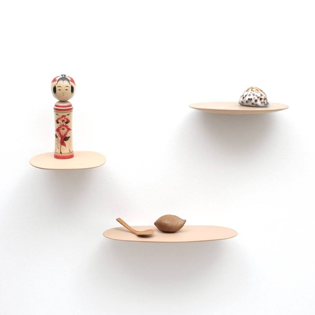 Ceramic shelf / S / Powder Pink