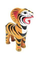 Ceramic tiger money bank