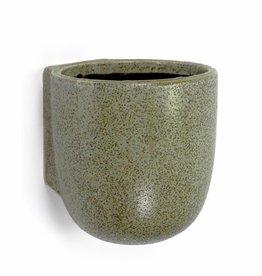 Wandpot / L / Groen