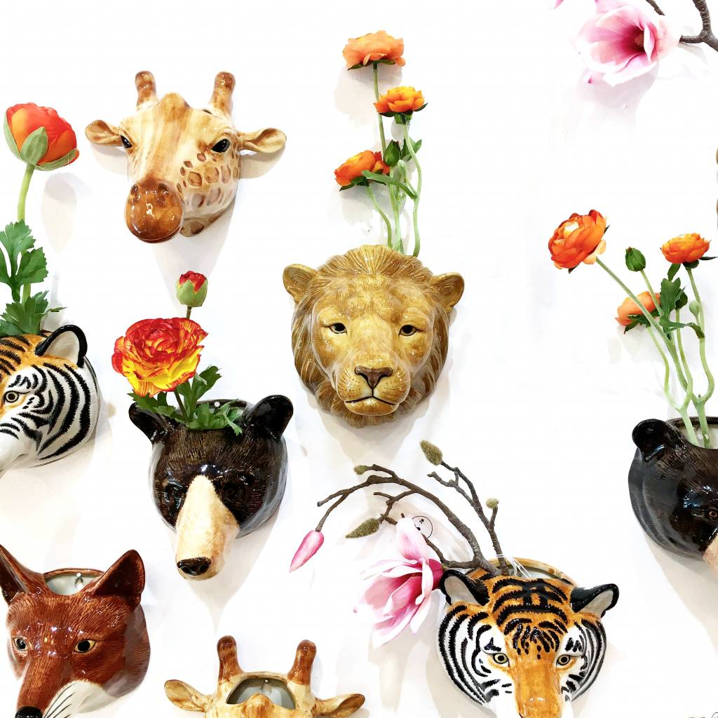 Wall Vase / Fox