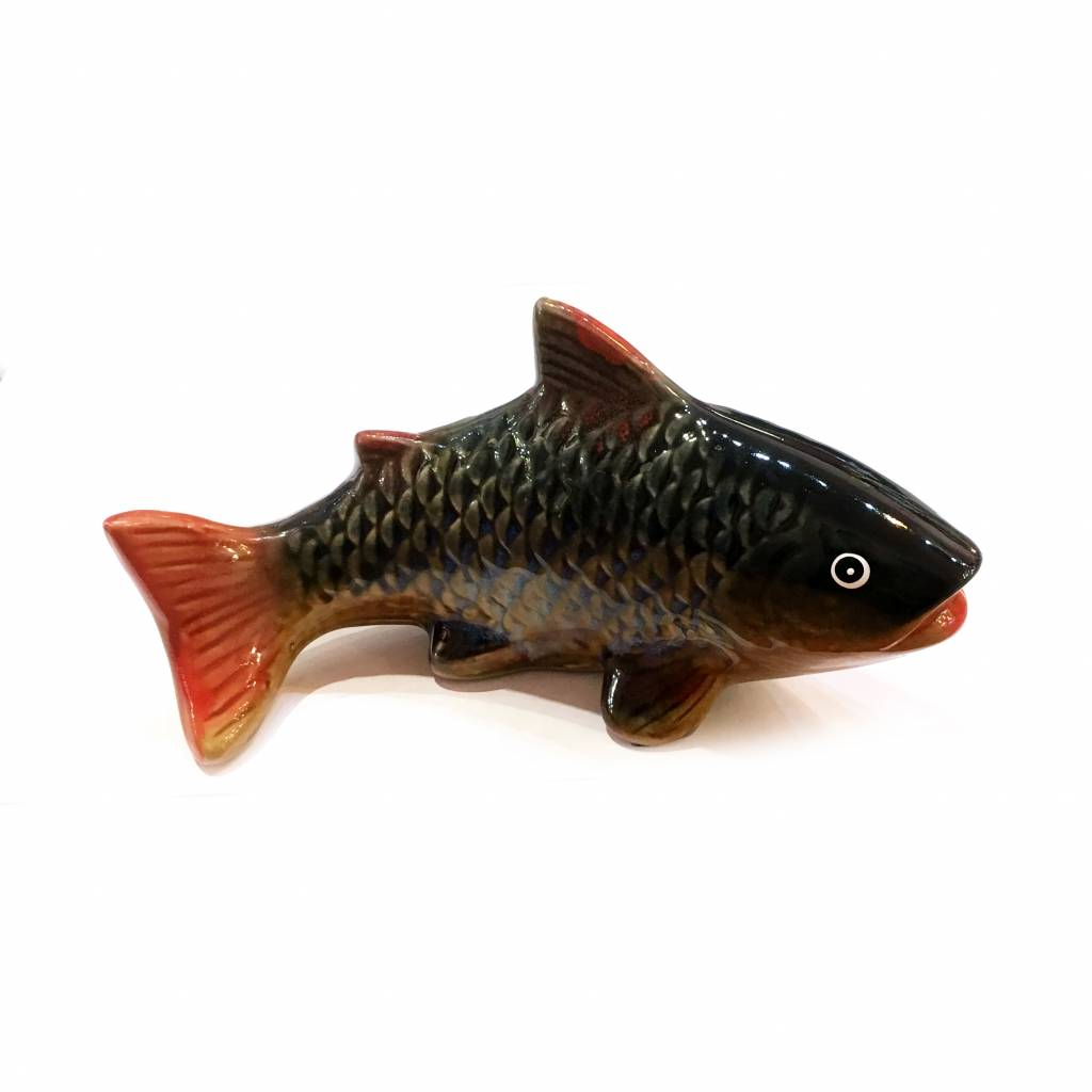 Porcelain fish figurine