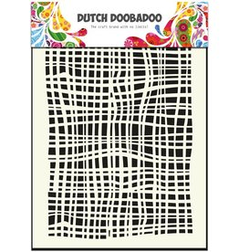 Dutch Doobadoo Dutch Mask Art A5 Fabric