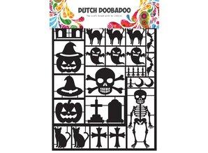 Dutch Doobadoo Dutch Paper Art A5 Black Halloween