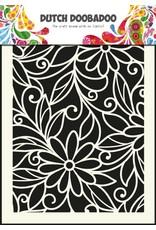 Dutch Doobadoo Dutch Art Mask A5 Flower Swirl