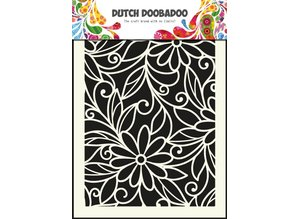 Dutch Doobadoo Dutch Art Mask A5 Flower Swirl