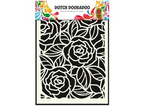 Dutch Doobadoo Dutch Mask A5 Big Roses