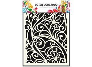 Dutch Doobadoo Dutch Mask A5 Flower Window