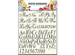 Dutch Doobadoo Dutch Stencil Art A4 Alphabet 2