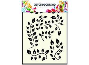 Dutch Doobadoo Dutch Mask Art A5 Leaves Branch