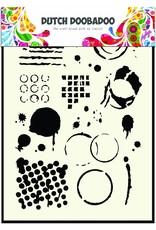 Dutch Doobadoo Dutch Mask Art A5 Geometric Tiles