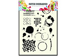 Dutch Doobadoo Dutch Mask Art A5 Geometric Tiles
