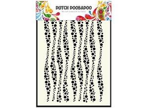 Dutch Doobadoo Dutch Mask Art A5 Wavy Stripes