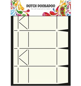 Dutch Doobadoo Dutch Box Art A4 Milk Carton