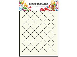 Dutch Doobadoo Dutch Mask Art A5 Stripes and Dots