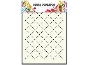 Dutch Doobadoo Dutch Mask Art A5 Stripes and Dots