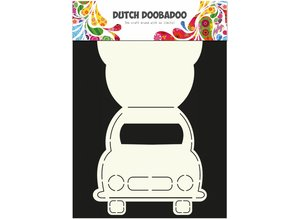 Dutch Doobadoo Dutch Card Art A4 Car