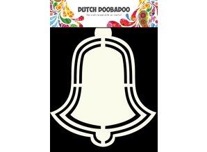Dutch Doobadoo Dutch Shape Art A5 Christmas Bell