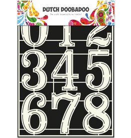 Dutch Doobadoo Dutch Stencil Art A4 Numbers 2